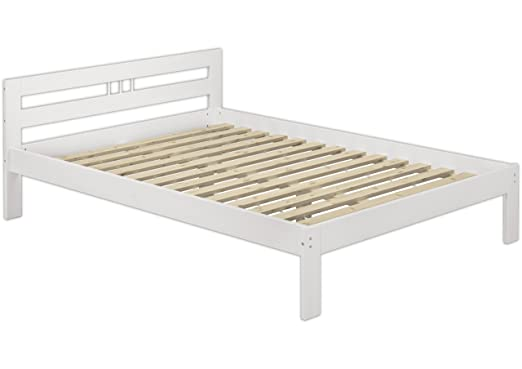60.64-14 letto in legno di pino massiccio per il bagnett bianco