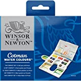 Winsor Newton Winsor & Newton Cotman Watercolor Compact Set (Color: Multi)