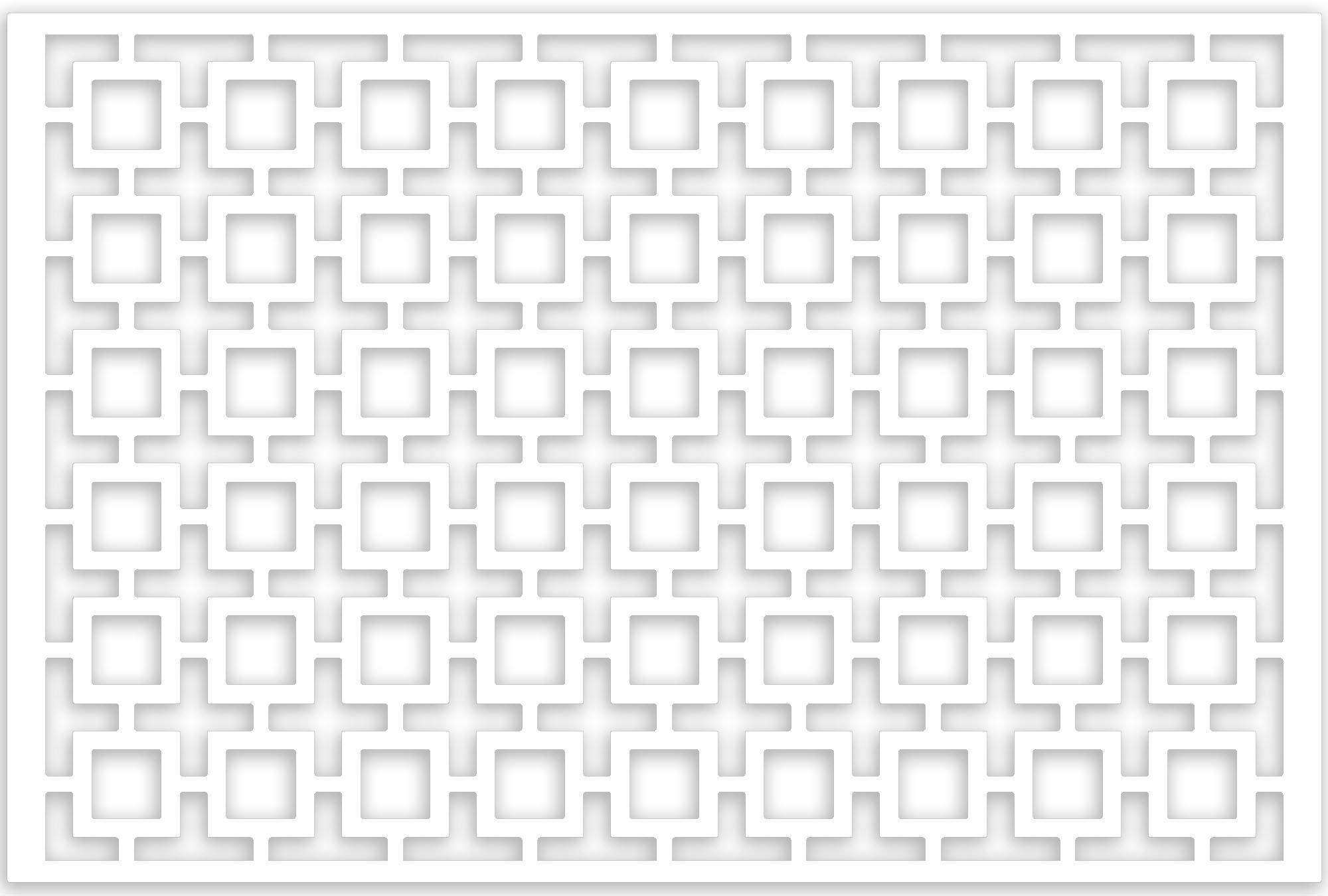 Acurio lattice retro squares outdoor decor panel screen for Lattice screen panels outdoor