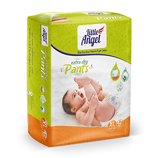 Little Angel Extra Dry Pants (Extra Large 42 pcs)