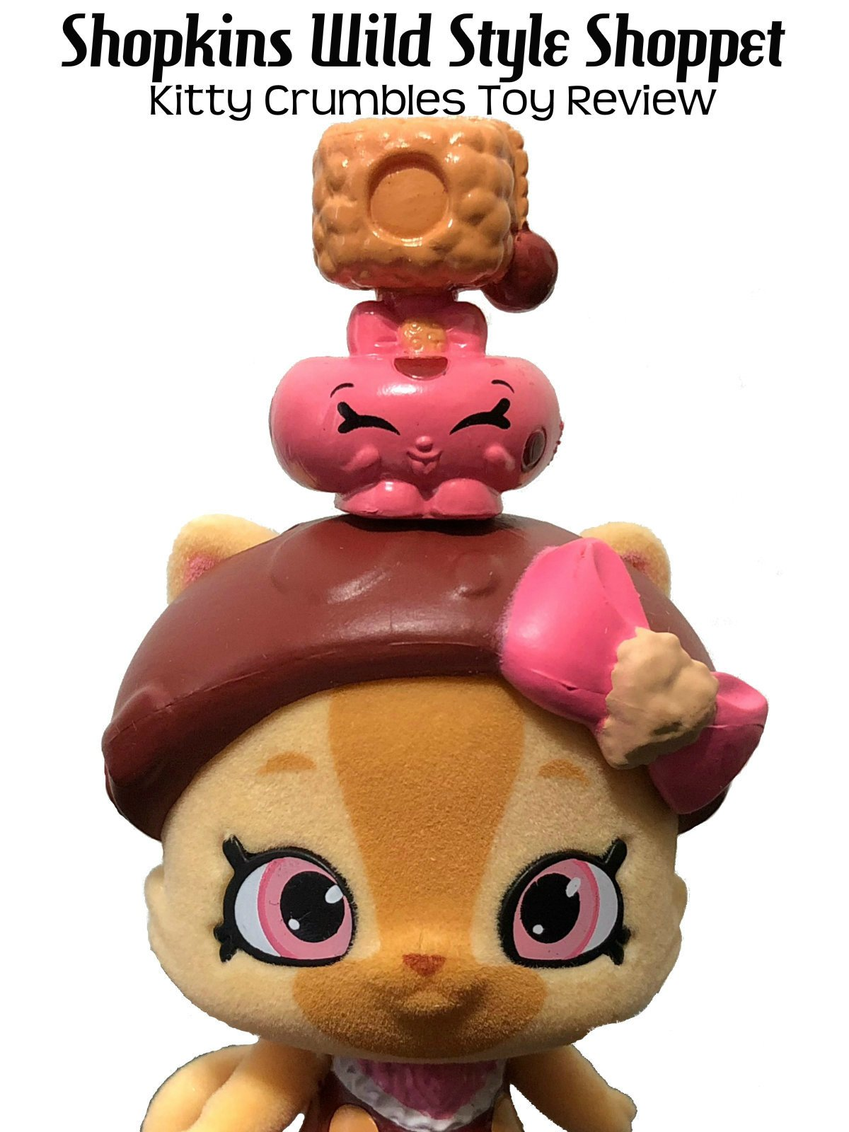 Review: Shopkins Wild Style Shoppet Kitty Crumbles Toy Review