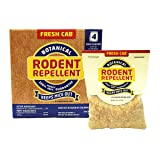 Fresh Cab Botanical Rodent Repellent 16 Scent Pouches - EPA Registered, Keeps Mice Out