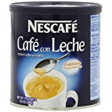 Nescafe Cafe con Leche, 10.5-Ounce Canister