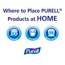 PURELL 9674-12 Instant Hand Sanitizer with Aloe, 8 fl oz Pump Bottle (Case of 12)