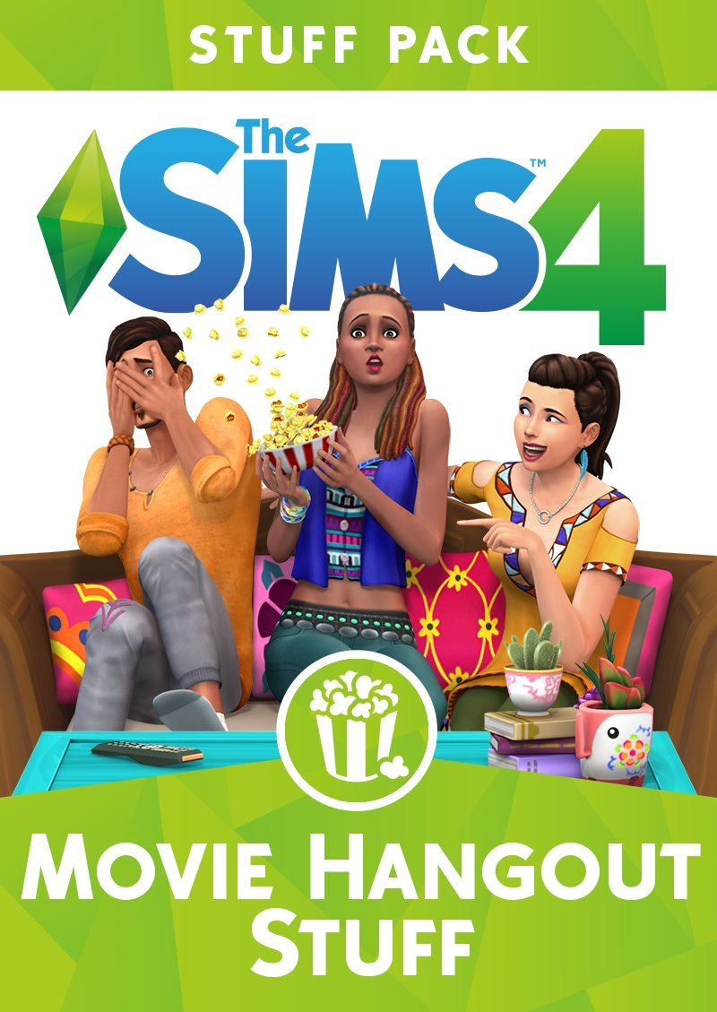 The Sims 4 - Movie Hangout Stuff (Online Game Code)