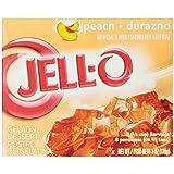 Jell-O Peach Gelatin Mix 6 Ounce Box