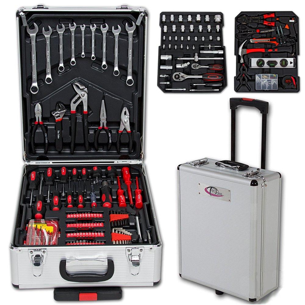 Maletín con herramientas para uso doméstico