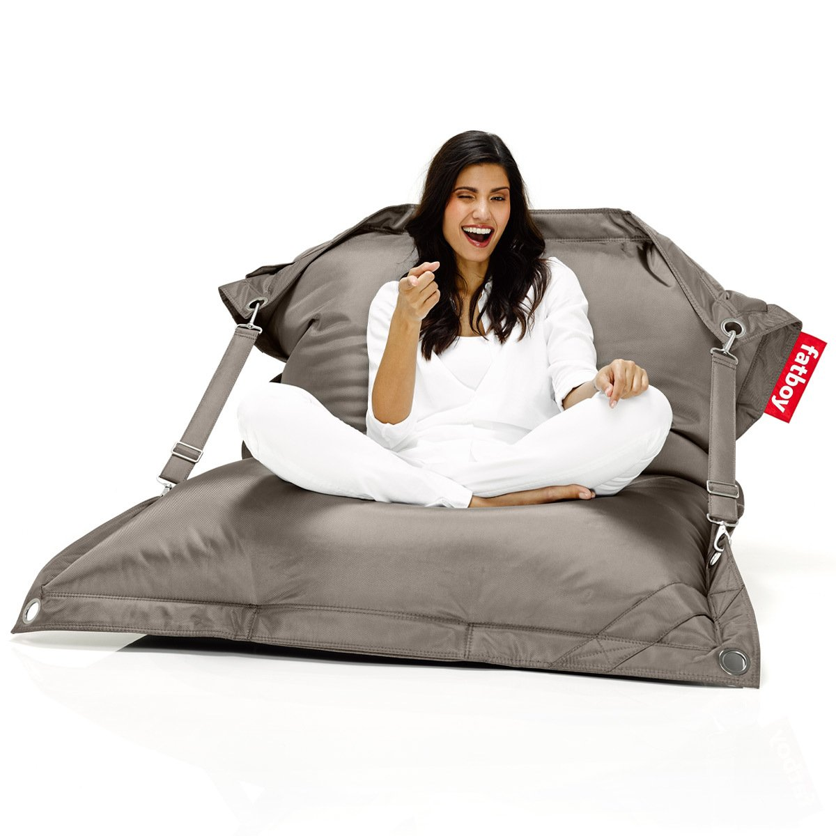 fatboy outdoor sitzsack buggle up taupe g nstig online kaufen. Black Bedroom Furniture Sets. Home Design Ideas