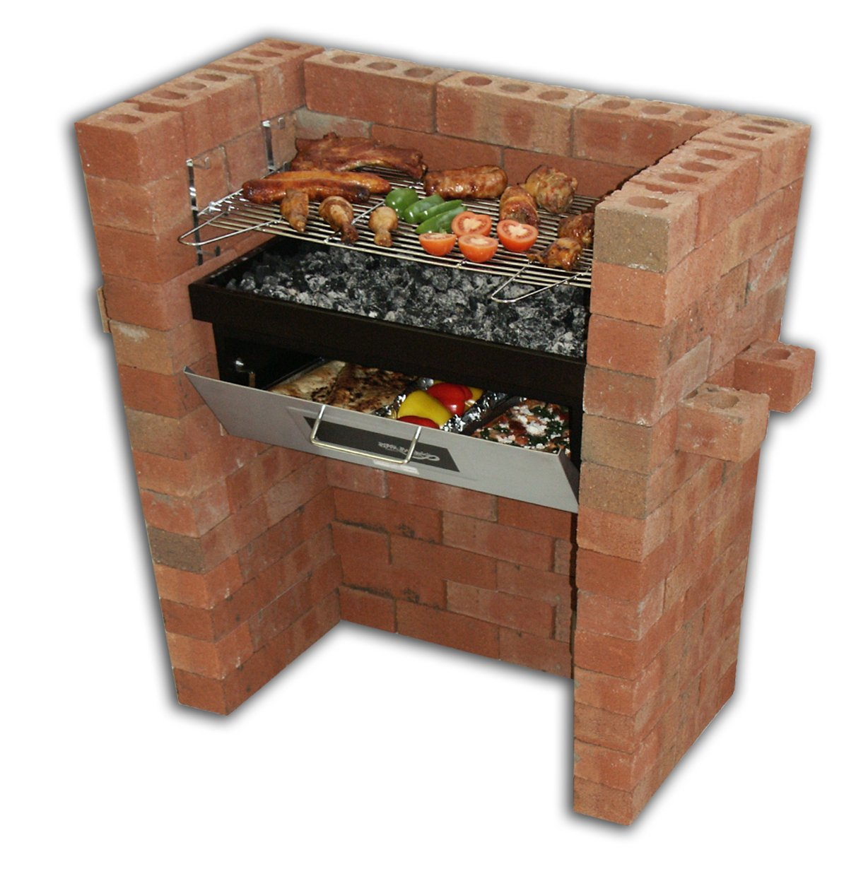 Der original Bar-Be-Quick Build In Grill & Bake kaufen
