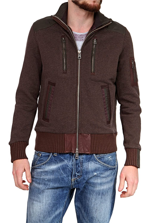 Aeronautica Militare Herren Blouson-Jacke , Farbe: Dunkelbraun günstig kaufen