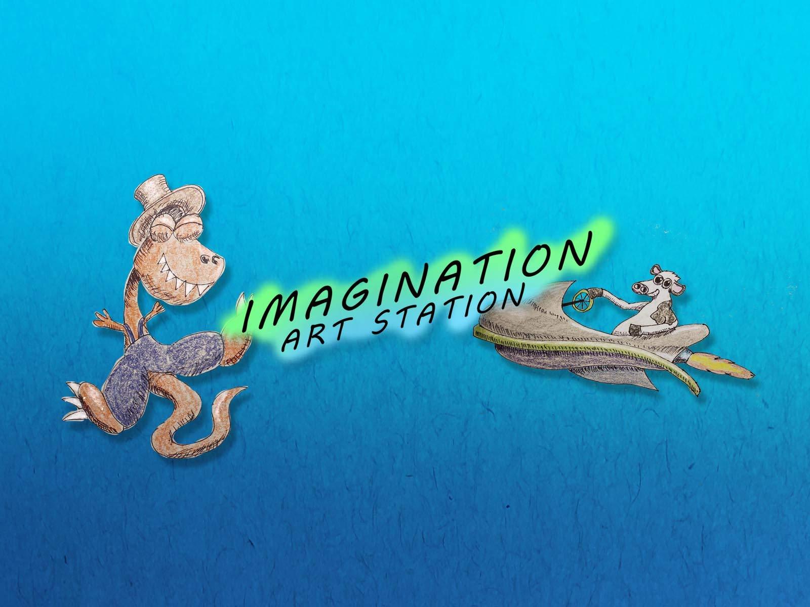 Clip: Imagination Art Station - Season 1