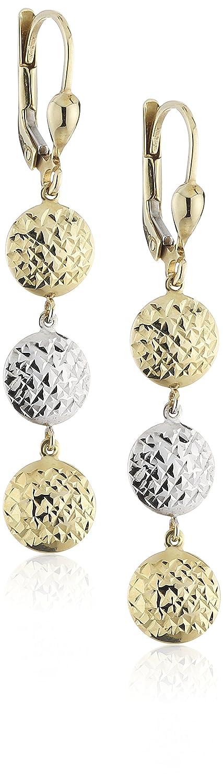 Celesta Damen-Ohrhänger 333 Bicolor Gold 50 mm 324330032 bestellen