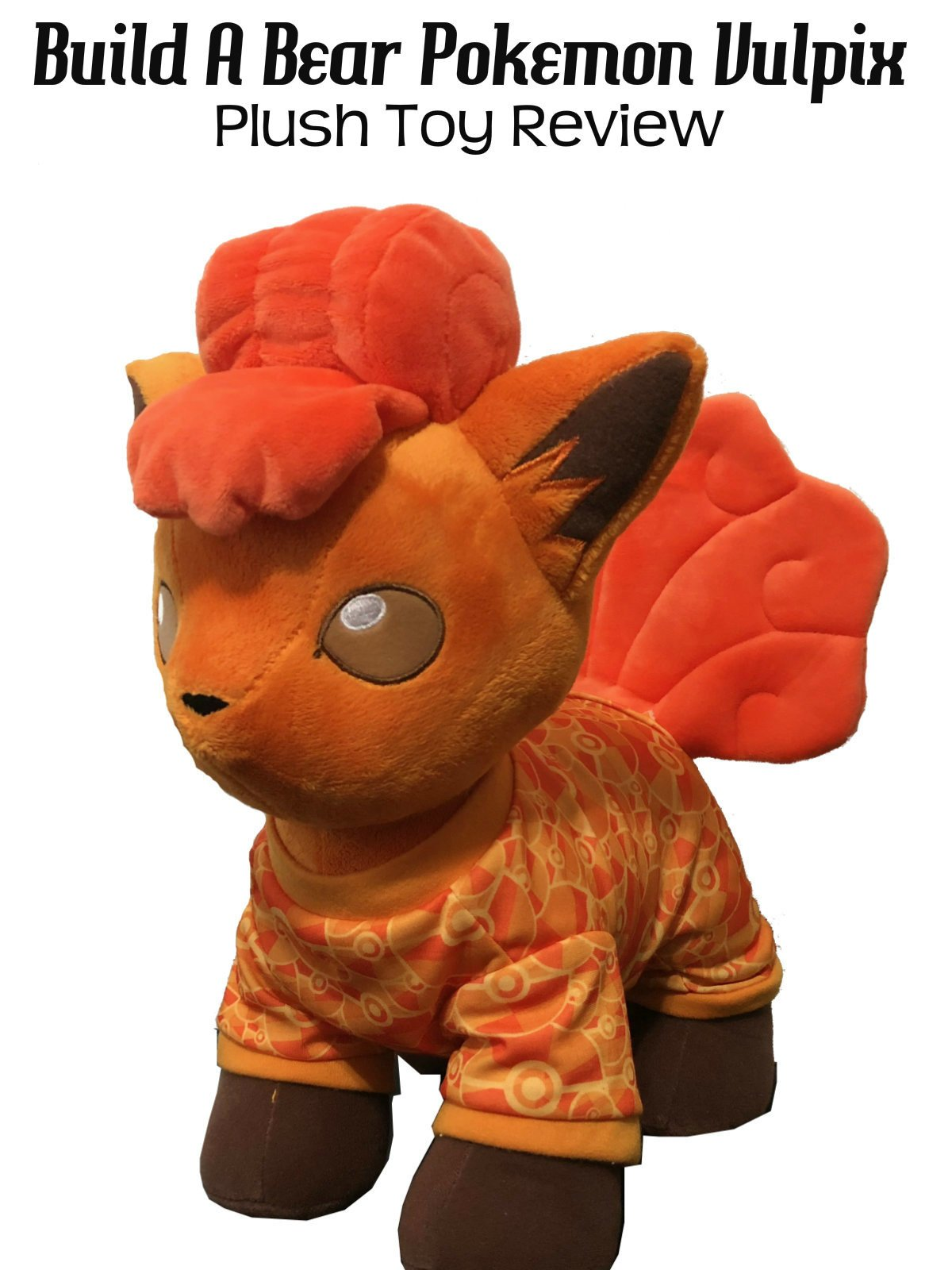 Review: Build A Bear Pokemon Vulpix Plush Toy Review