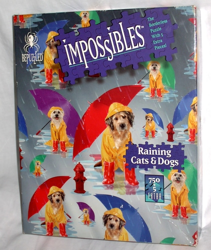 Impossibles Puzzle Raining Cats Dogs