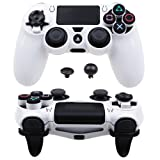 MXRC ULTRA ARMOR GEAR FPS Case Cover Shell for PS4 Controller White