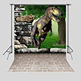 FUERMOR Customized Photo Background 5X7FT Dinosaur Photography Backdrops Props For Photo Studio A713