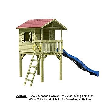 Palafitta casa sull albero casa di giochi in legno - Casa di legno per bambini ...