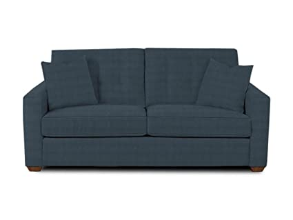 Klaussner Midnight Lido Sofa, 81 by 36 by 31-Inch