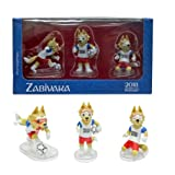 Set #1 (Standard) of 3 figures Zabivaka - Official Mascot of FIFA 2018 (GIFT BOX)