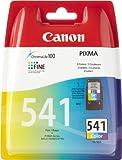 Canon CL-541 - Cartucho de tinta para impresora Canon Pixma MX375, PIXMA MX435, PIXMA MX515, color cyan, amarillo, magenta
