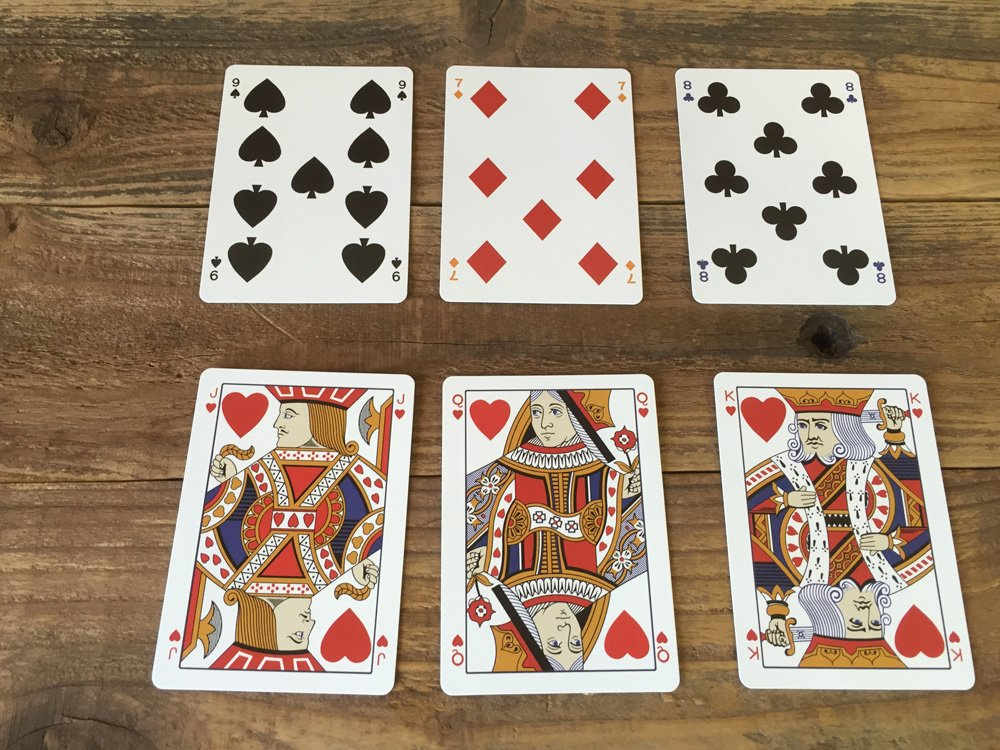 Mauger 1876 Centennial Exposition Playing Cards Restoration 2