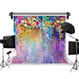 Kate 10X10ft/3x3m Wedding Background Spring Backdrop Colorful Fantasy Background Colorful Flowers Children Background Photo Props (Color: A0688, Tamaño: 10x10ft)