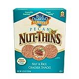 Blue Diamond Almonds Nut-Thins Cracker Crisps, Pecan 4.25 Ounce