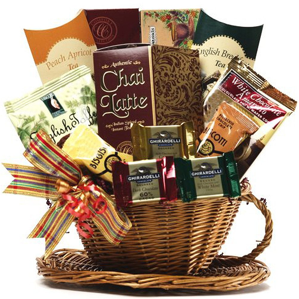 ... Gift Baskets Youre My Cup of Tea Basket Wedding Anniversary Gifts