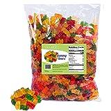 Gummy Bears - Gummy Candy - Gummy Bears Bulk - Bulk Candy - 5 Pounds (Color: Multi, Tamaño: 80 Ounces)