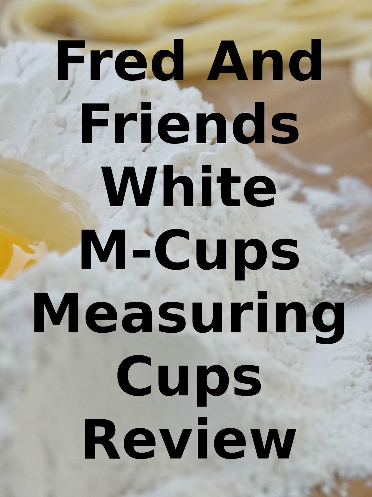 Review: Fred And Friends White M-Cups Measuring Cups Review on Amazon Prime Video UK