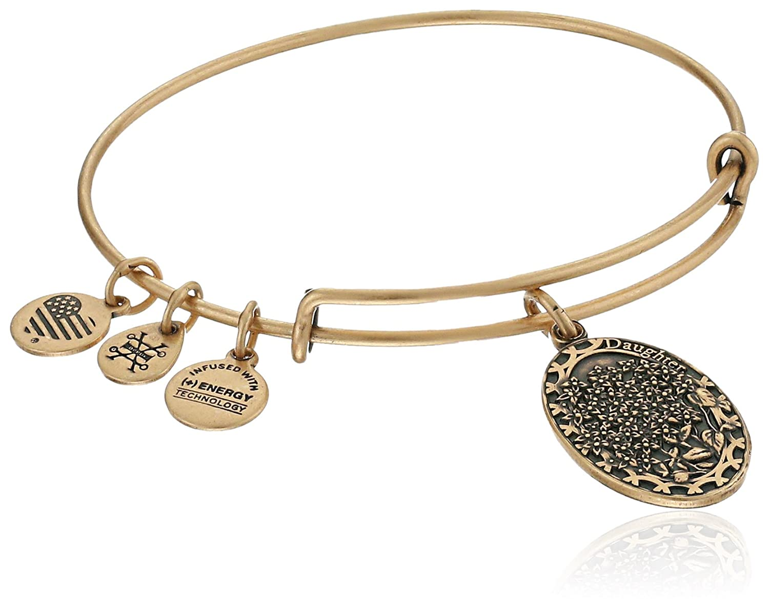 Alex and Ani Because I love you, Daughter II Expandable Bangle Bracelet