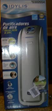 Idylis 310 Sq. Ft. 200 CADR Air Purifier with UV C Model