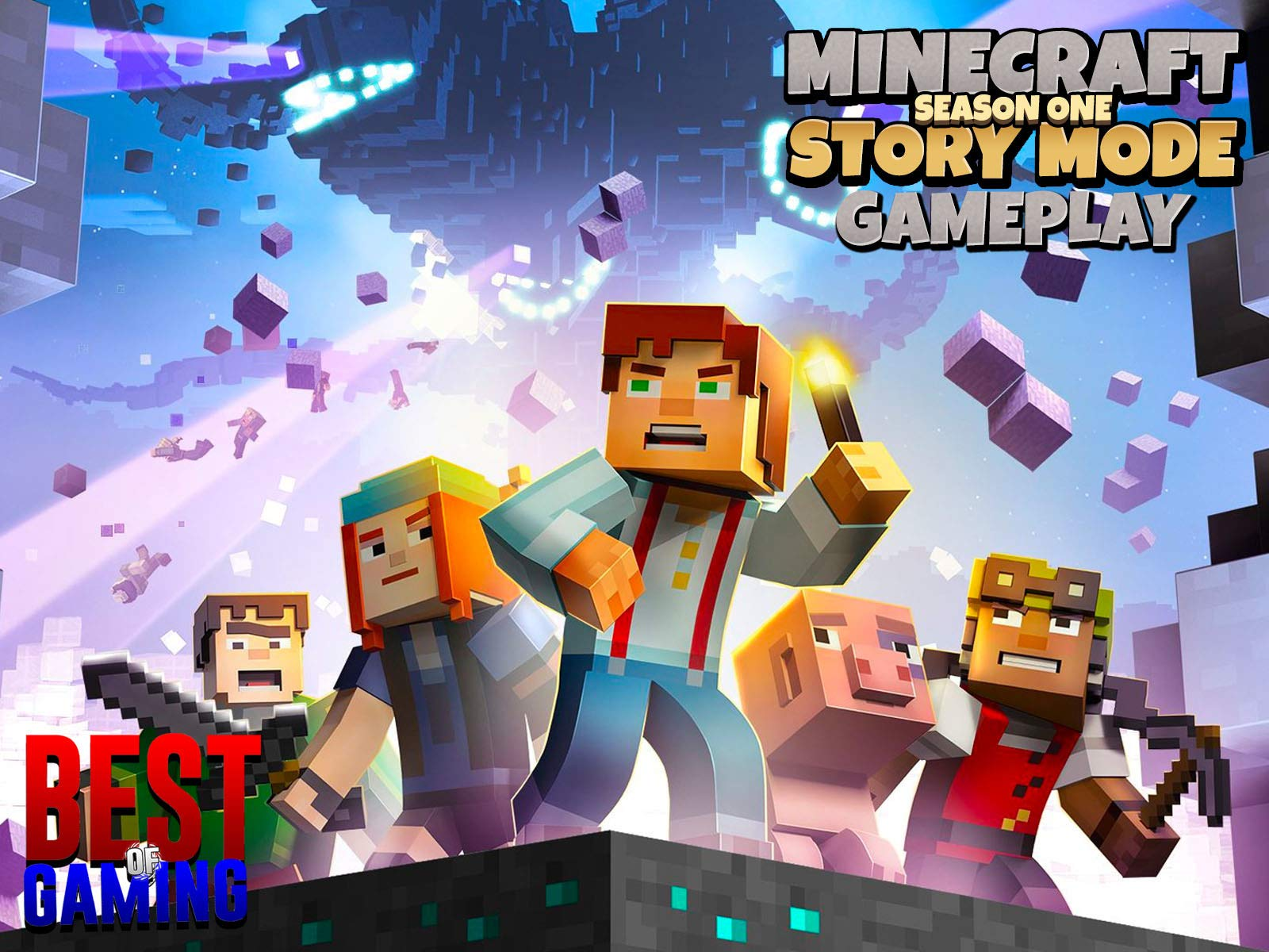 Clip: Story Mode Minecraft Season One Gameplay - Best of Gaming! on Amazon Prime Video UK