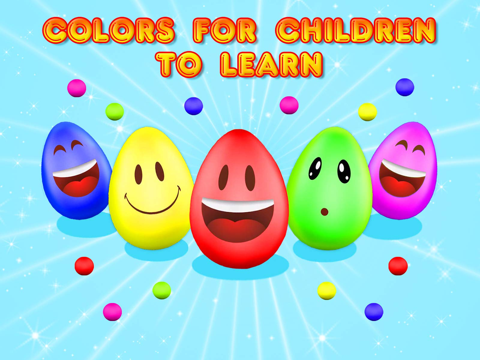 Colors for Children to Learn - Season 2