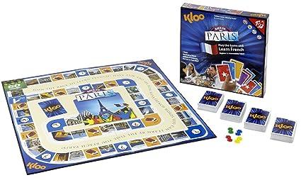 KLOO Le jeu pour apprendre à parler français (à partir de l'anglais) - Race to Paris