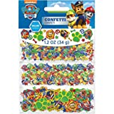 Amazing Paw Patrol Birthday Party Value Confetti Decorations (1 Piece), Multi Color, 1.2 oz.. (Color: Multi Color, Tamaño: 1 Pieces)
