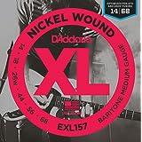 D'Addario EXL157 Nickel Wound Electric Guitar Strings, Baritone Medium, 14-68 (Tamaño: Baritone Medium, 14-68)