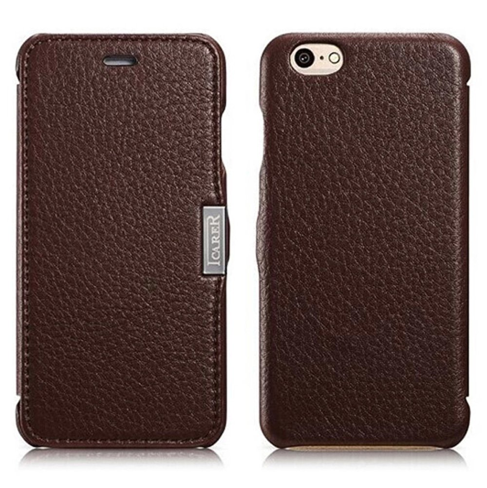 MH Designs iPhone 6 Italian Leather Smartphone Case (lychee dark brown)review and more information
