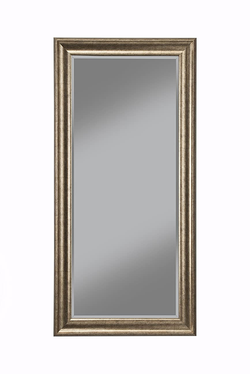 Sandberg Furniture 14111 Full Length Leaner Mirror Frame, Antique Gold 0