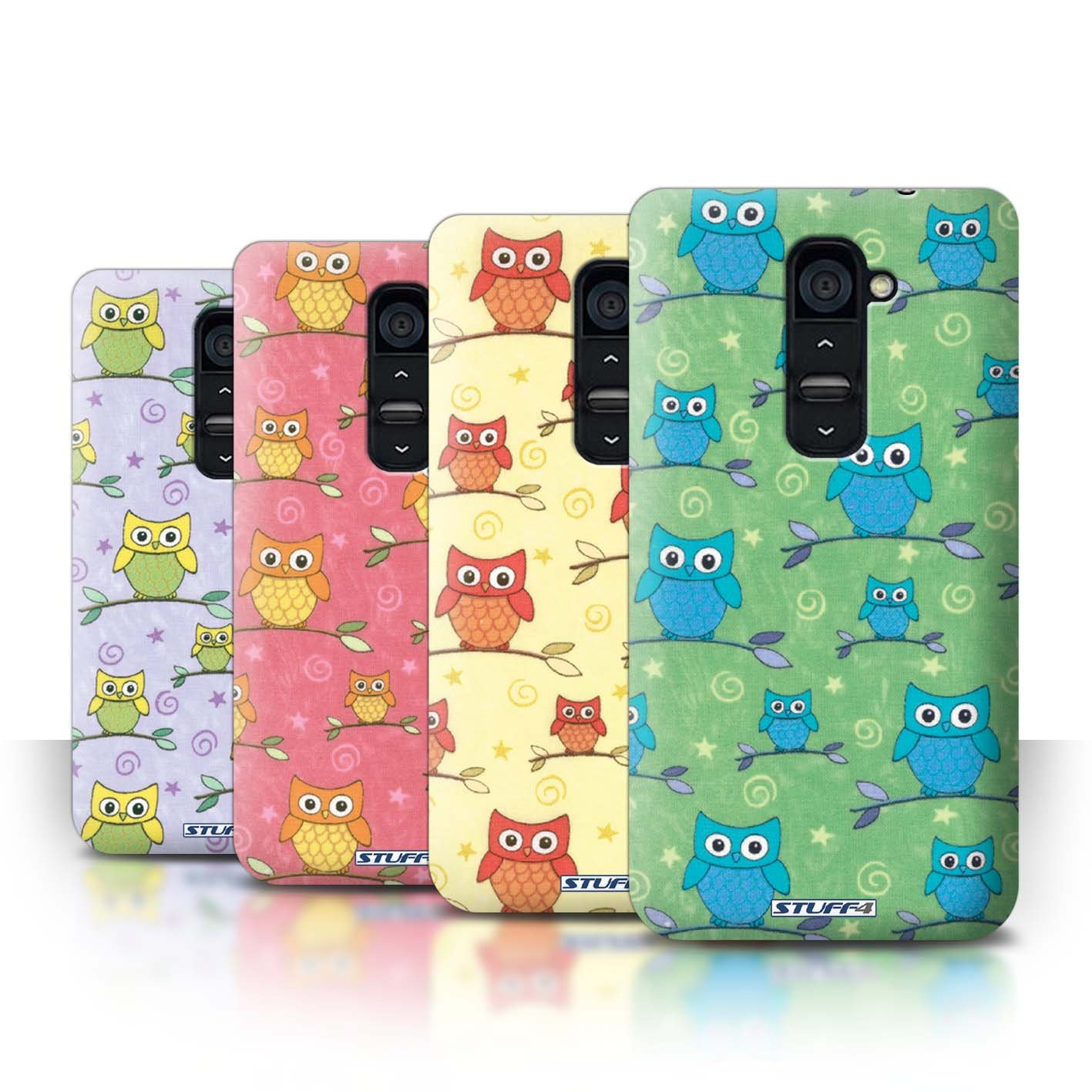 STUFF4 Phone Case / Cover for LG G2 / Pack (11 pcs) / Cute Owl Pattern Collection / by Deb Strain / Penny Lane Publishing, Inc.reviews and more news