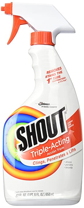 Johnson S C Inc 02251 Shout Stain Remover-22OZ STAIN REMOVER