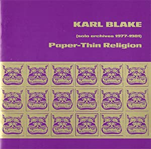 Paper-Thin Religion (Solo Archives 1977-1981)