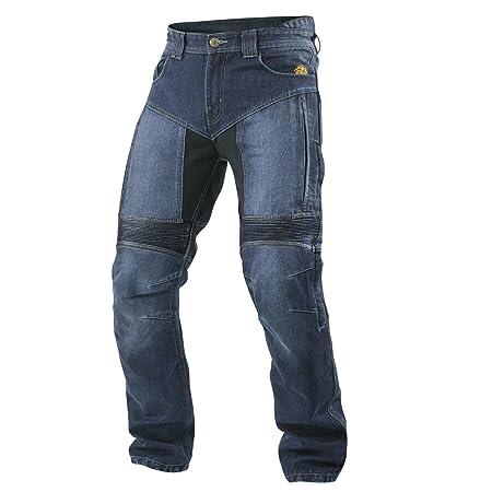 Trilobite aGNOX moto étanche langgröße jean pour homme bleu