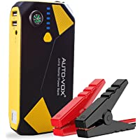 AUTO-VOX 14000mAh Portable Car Jump Starter with Compass LED Lights