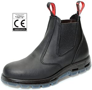 Redback USBBK Chelsea Boots mit Stahlkappe Black aus Australien  Schuhe & HandtaschenKundenbewertungen
