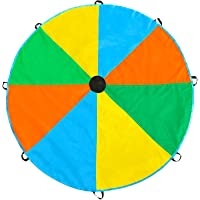 Magicfly 12-ft Play Parachute Toy with 8 Handles - Multicolor