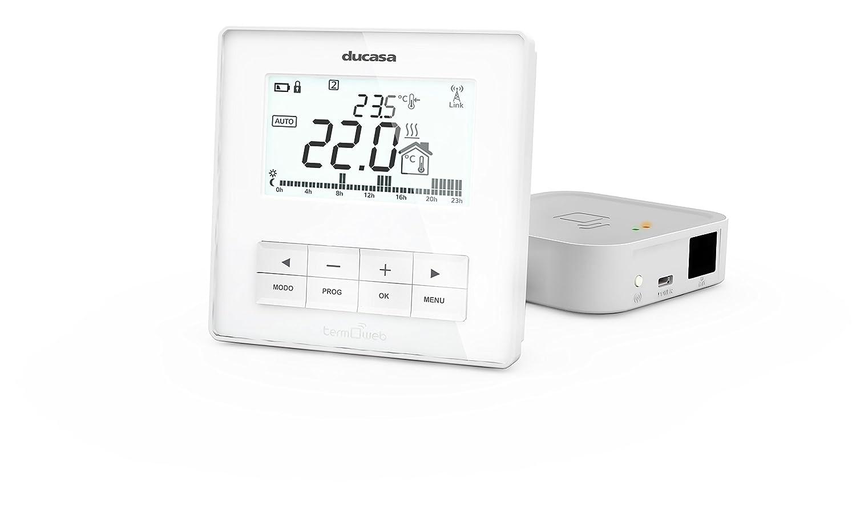 Termostato para calefacción controlado por wifi