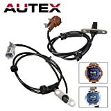 AUTEX 2PCS ABS Wheel Speed Sensor Rear Left & Right ALS1491 ALS1492 47901-EA002 47900-EA002 Compatible with Nissan Xterra 2005-2007 4.0L RWD/Replacement for Nissan Xterra 2008-2010 4.0L w/Auto Trans