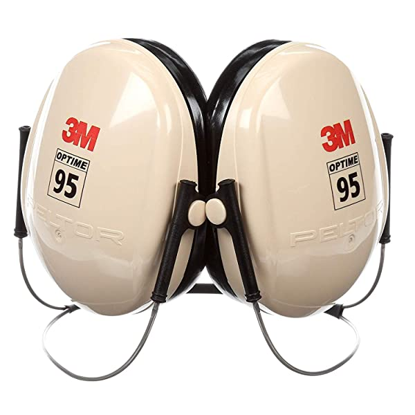 3M Peltor Optime 95 Behind-the-Head Earmuffs, Hearing Conservation H6B/V (Tamaño: Limited Edition)