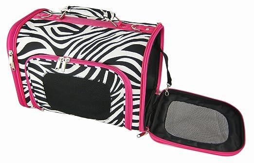 Zebra Pet Zebra Purse Style Dog Pet